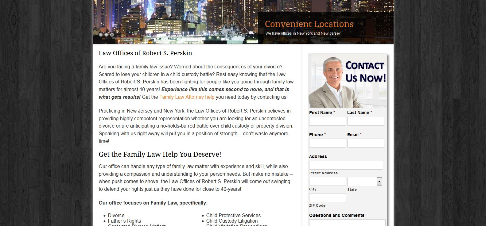 Legal web content writer